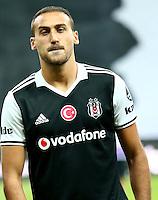 Turkey superlig match between Besiktas and Alanyaspor at Vodafone Arena in Istanbul , Turkey on August 20 , 2016.<br /> Final Score : Besiktas 4 - Alanyaspor 1<br /> Pictured: Cenk Tosun of Besiktas .