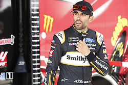 July 21, 2018 - Loudon, New Hampshire, United States of America - Aric Almirola (10) prepares to take to the track for final practice for the Foxwoods Resort Casino 301 at New Hampshire Motor Speedway in Loudon, New Hampshire. (Credit Image: © Justin R. Noe Asp Inc/ASP via ZUMA Wire)