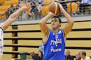 DESCRIZIONE : Coimbra Qualificazioni Europei 2013 Portogallo Italia<br /> GIOCATORE : Danilo Gallinari<br /> CATEGORIA : three points<br /> SQUADRA : Italia<br /> EVENTO : Qualificazioni Europei 2013<br /> GARA : Portogallo Italia <br /> DATA : 30/08/2012 <br /> SPORT : Pallacanestro <br /> AUTORE : Agenzia Ciamillo-Castoria/GiulioCiamillo<br /> Galleria : Fip Nazionali 2012 <br /> Fotonotizia : Coimbra Qualificazioni Europei 2013 Italia Portogallo<br /> Predefinita :