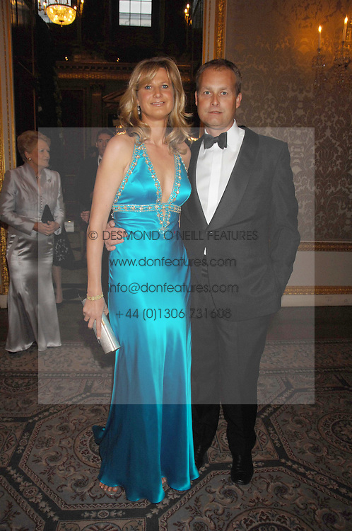 MR & MRS IAN WACE he is a leading financial world figure at the Ark 2007 charity gala at Marlborough House, Pall Mall, London SW1 on 11th May 2007.<br /><br />NON EXCLUSIVE - WORLD RIGHTS