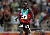Friidrett ,  Olympiske Leker / OL / 2008 23.08.2008 <br /> Norge- Russland<br /> 5000 m: Cheruiyot Edwin Soi , KEN