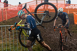 WERNER Kerry (USA) during Men Elite race, 2020 UCI Cyclo-cross Worlds Dübendorf, Switzerland, 2 February 2020. Photo by Pim Nijland / Peloton Photos | All photos usage must carry mandatory copyright credit (Peloton Photos | Pim Nijland)