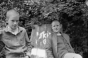 Neville and Lee Young Skinheads, High Wycombe, UK, 1980s.