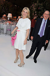 BEATRICE VICENZINI-WARRENDER at a dinner hosted by Cartier following the following the opening of the Chelsea Flower Show 2012 held at Battersea Power Station, London on 21st May 2012.