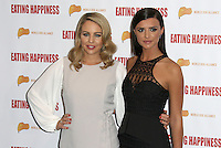 Lydia Rose Bright & Lucy Mecklenburgh, Eating Happiness - VIP Film Screening, Mondrian London, London UK, 25 January 2016, Photo by Brett D. Cove
