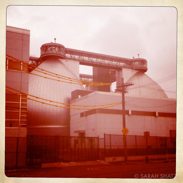 Greenpoint, sewage plant