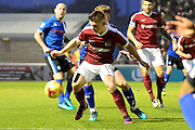 during the EFL Sky Bet League 1 match between Northampton Town and Rochdale at Sixfields Stadium, Northampton, England on 17 December 2016. Photo by Dennis Goodwin.