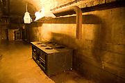 Kitchen, German Underground Military hospital, Guernsey, Channel Islands, UK