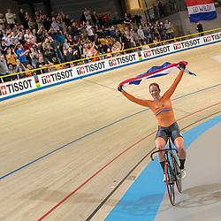 02-03-2018: Wielrennen: WK Baan: Apeldoorn<br />Kirsten Wild pakt de werledtitel op het omnium