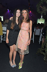 SAVANNAH MURPHY and her mother HEATHER KERZNER at Gabrielle's Gala an annual fundraising evening in aid of Gabrielle's Angel Foundation for Cancer Research held at Battersea Power Station, London on 2nd May 2013.