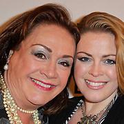 NLD/Amsterdam/20120204 - 30ste Verjaardag Richy Brown, Viola Holt en dochter Kirsten