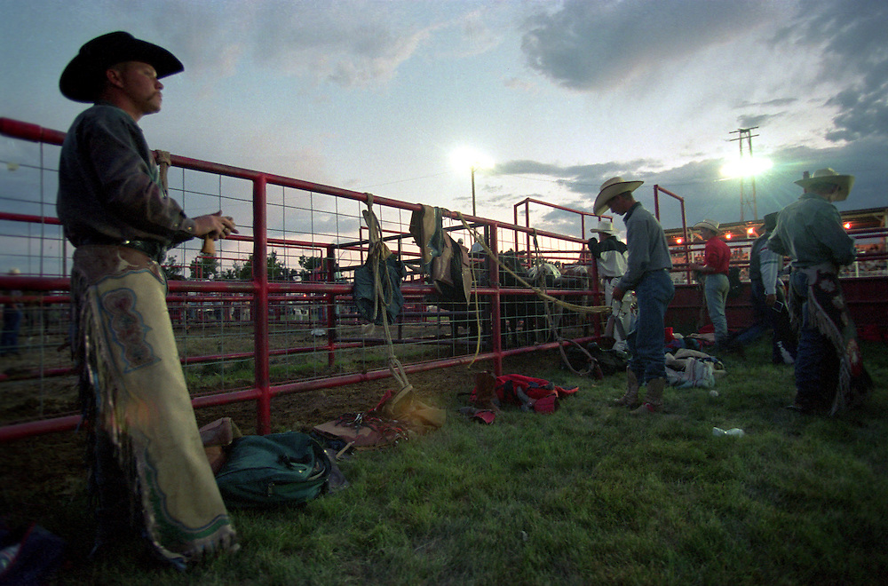 Cowboys prepare for rodeo action
