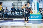 Leonardo Candi<br /> U.S. Basket Recanati - Kontatto Fortitudo Basket Bologna<br /> Lega Nazionale Pallacanestro 2016/2017<br /> Recanati 09/04/2017<br /> Foto Ciamillo-Castoria
