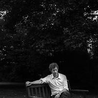 Antonio Olmos<br /> London, UK<br /> http://www.antonioolmos.com<br /> <br /> Sebastian Faulks, novelist, in Notting Hill, London, on 24th August 2005.