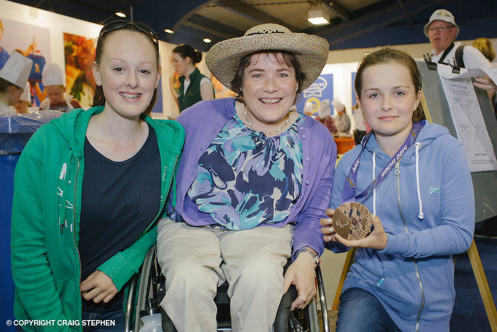 Royal Highland Show 2014. Aileen Neilston Paralympic curler @ Childrens Discovery Centre. PAYMENT TO CRAIG STEPHEN 07905 483532