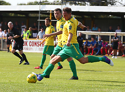 August 28, 2017 - London, United Kingdom - Richard Halle of Thurrock FC .during Bostik League Premier Division match between Thurrock vs Billericay Town at  Ship Lane Ground, Aveley on 28 August 2017  (Credit Image: © Kieran Galvin/NurPhoto via ZUMA Press)