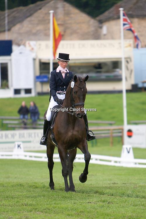 Madeleine Brugman (Netherlands) riding Edino<br /> Equi-Trek Bramham International Horse Trials  CIC*** Dressage