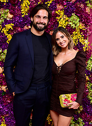 Jamie Jewitt and Camilla Thurlow attending the Crazy Rich Asians Premiere held at Ham Yard Hotel, London.