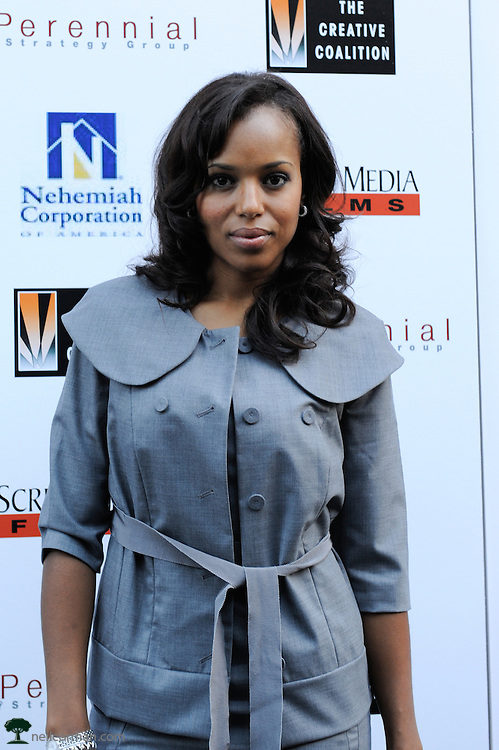 August 27, 2008 - Actress Kerry Washington attends the Spotlight Initiative Award Morning Reception Honoring Annette Bening during the 2008 Democratic National Convention in Denver.