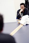 Frankfurt am Main | 09.04.2011..HR3@Night 2011 (hr 3 at night) 2011, Laith Al Deen (Laith Sascha Al Deen) live mit der HR Big Band im Messe Congress Center Messe Frankfurt, hier: Laith Al Deen in seiner Garderobe...©peter-juelich.com..[No Model Release | No Property Release]