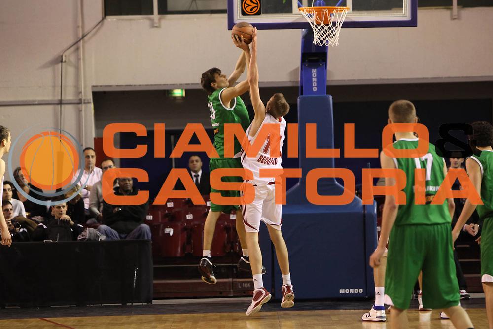 DESCRIZIONE : Parigi Paris Eurolega Eurolegue 2009-10 Final Four Nike International Junior Tournament  Fmp Belgrado Benetton Basket Treviso<br /> GIOCATORE :  Ludovico De Paoli<br /> SQUADRA : Benetton Basket Treviso<br /> EVENTO : Eurolega 2009-2010 <br /> GARA : Fmp Belgrado Benetton Basket Treviso<br /> DATA : 06/05/2010 <br /> CATEGORIA : tiro<br /> SPORT : Pallacanestro <br /> AUTORE : Agenzia Ciamillo-Castoria/C.De Massis<br /> Galleria : Eurolega 2009-2010 <br /> Fotonotizia : Parigi Paris Eurolega Euroleague 2009-2010 Final Four Nike International Junior Tournament  Fmp Belgrado Benetton Basket Treviso<br /> Predefinita :