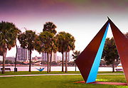 Saint Petersburg, Florida, Vinoy Park, Sculpture, Hammock