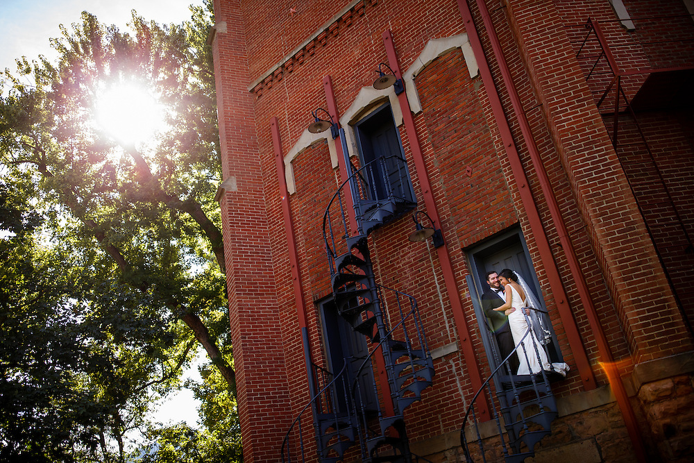 Megan Canon and Bryan Burns are married in Boulder, Saturday, Oct. 8, 2016. Justin Edmonds Photography