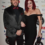 Rob Fowler and Sharon Sexton Arriver at the 18th Annual WhatsOnStage Awards 2018 at Prince of Wales Theatre on 25 Feb 2018, London, UK