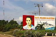 Revolutionary signs in Cienfuegos, Cuba.