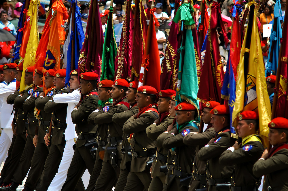 MILITARY PARADE OF 19 APRIL VENEZUELA / DESFILE MILITAR DEL 19 DE ABRIL<br /> Photography by Aaron Sosa<br /> Caracas - Venezuela 2010<br /> (Copyright &copy; Aaron Sosa)
