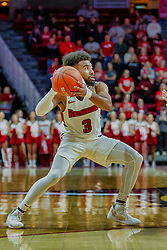 NORMAL, IL - February 05: Keyshawn Evans during a college basketball game between the ISU Redbirds and the Valparaiso Crusaders on February 05 2019 at Redbird Arena in Normal, IL. (Photo by Alan Look)