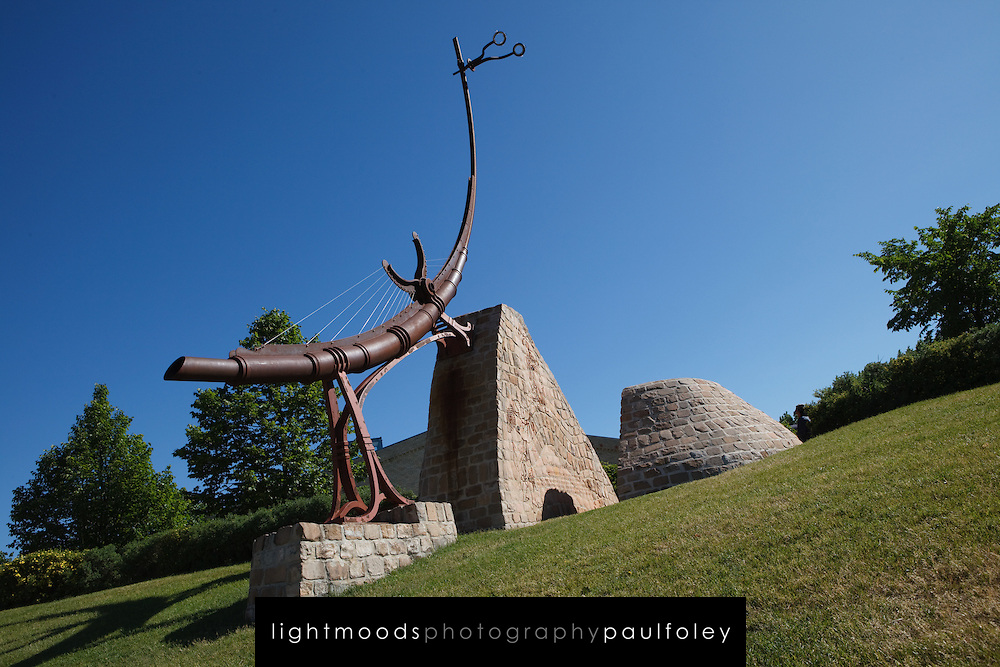 Public Sculpture at The Forks National Historic Site,  Winnipeg, Canada