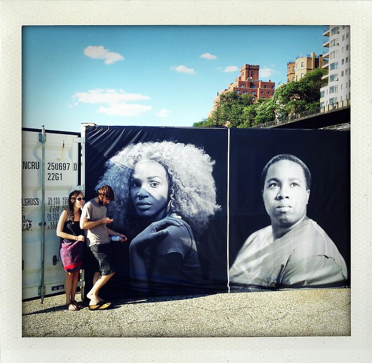 PHOTOVILLE, Brooklyn, New York, June 2012.Becoming Visible: Portraits of Homeless Transgender Teens. By Josh Lehrer..© Stefan Falke.www.stefanfalke.com..
