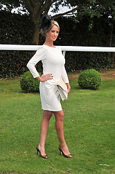 CHANTELLE HOUGHTON at the Investec Derby at Epsom Racecourse, Epsom Downs, Surrey on 4th June 2011.