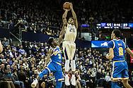 UW Huskies vs UCLA Bruins men's basketball at Hec Edmondson Pavilion. January 4th, 2016