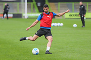 Forest Green Rovers Omar Bugiel(11) during training during the Forest Green Rovers Press Conference and Training session at the New Lawn, Forest Green, United Kingdom on 12 May 2017. Photo by Shane Healey.