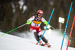 17.02.2019, Aare, SWE, FIS Weltmeisterschaften Ski Alpin, Slalom, Herren, 1. Lauf, im Bild Christian Hirschbuehl (AUT) // Christian Hirschbuehl of Austria in action during his 1st run of men's Slalom of FIS Ski World Championships 2019. Aare, Sweden on 2019/02/17. EXPA Pictures © 2019, PhotoCredit: EXPA/ Johann Groder