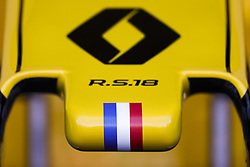 March 23, 2018 - Melbourne, Victoria, Australia - Renault F1 RS18 Renault Sport F1 team, front wing during 2018 Formula 1 championship at Melbourne, Australian Grand Prix, from March 22 To 25 - Photo  Motorsports: FIA Formula One World Championship 2018, Melbourne, Victoria : Motorsports: Formula 1 2018 Rolex  Australian Grand Prix, (Credit Image: © Hoch Zwei via ZUMA Wire)
