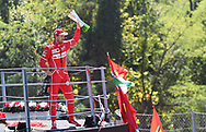 Sebastian Vettel of Scuderia Ferrari after coming third in the Italian Formula One Grand Prix at Monza National Race Track, Monza, Italy.<br /> Picture by EXPA Pictures/Focus Images Ltd 07814482222<br /> 03/09/2017<br /> *** UK &amp; IRELAND ONLY ***<br /> <br /> EXPA-EIB-170903-0096.jpg