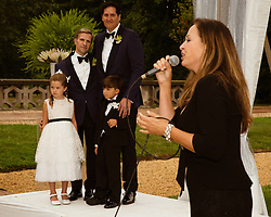 Linda Eder singing at a gay wedding