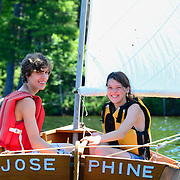 UNH Family Boat Building Sail Day