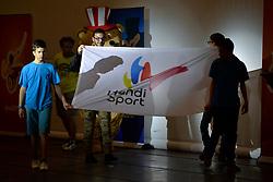 Cérémonie D'Ouverture aux Jeux Nationaux de L'Avenir