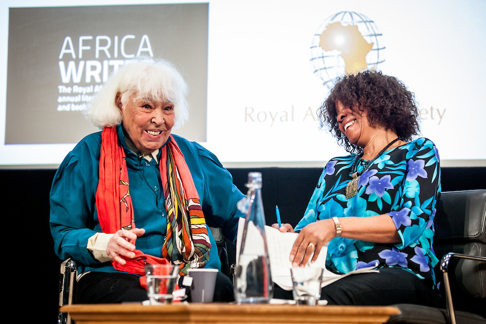 "Nawal El Saadawi is an Egyptian feminist writer, activist, physician, and psychiatrist. She has written many books on the subject of women in Islam, paying particular attention to the practice of female genital mutilation in her society. She has been described as ""the Simone de Beauvoir of the Arab World"". London, 2nd July 2016. (Photos/Ivan Gonzalez)"
