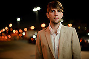 Portraits of musician Owen Pallett, photographed in St. Louis on September 30, 2010.