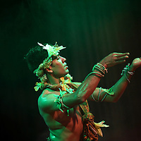 London, United Kingdom - November 2011, Season of Bangla Drama, Panchadeepmala (Five Lamps to Light) performance.