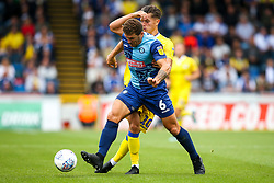 Tom Nichols of Bristol Rovers takes on Adam El-Abd of Wycombe Wanderers - Mandatory by-line: Robbie Stephenson/JMP - 18/08/2018 - FOOTBALL - Adam's Park - High Wycombe, England - Wycombe Wanderers v Bristol Rovers - Sky Bet League One