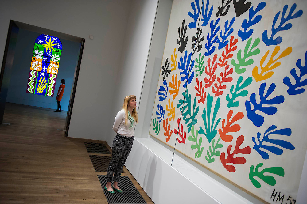 Henri Matisse Cut-outs Tate Modern London | GBPhotos