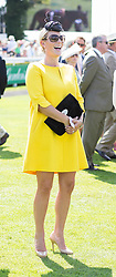Zara Phillips at Ladies Day at Glorious Goodwood in the UK  <br />