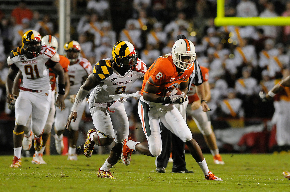 2011 Miami Hurricanes Football @ Maryland<br /> <br /> Tommy Streeter