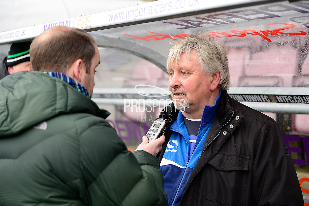 Yeovil Town manager Paul Sturrock during the Sky Bet League 2 match between Northampton Town and Yeovil Town at Sixfields Stadium, Northampton, England on 28 November 2015. Photo by Dennis Goodwin.